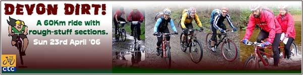 DEVON DIRT - off road and lanes cycle ride